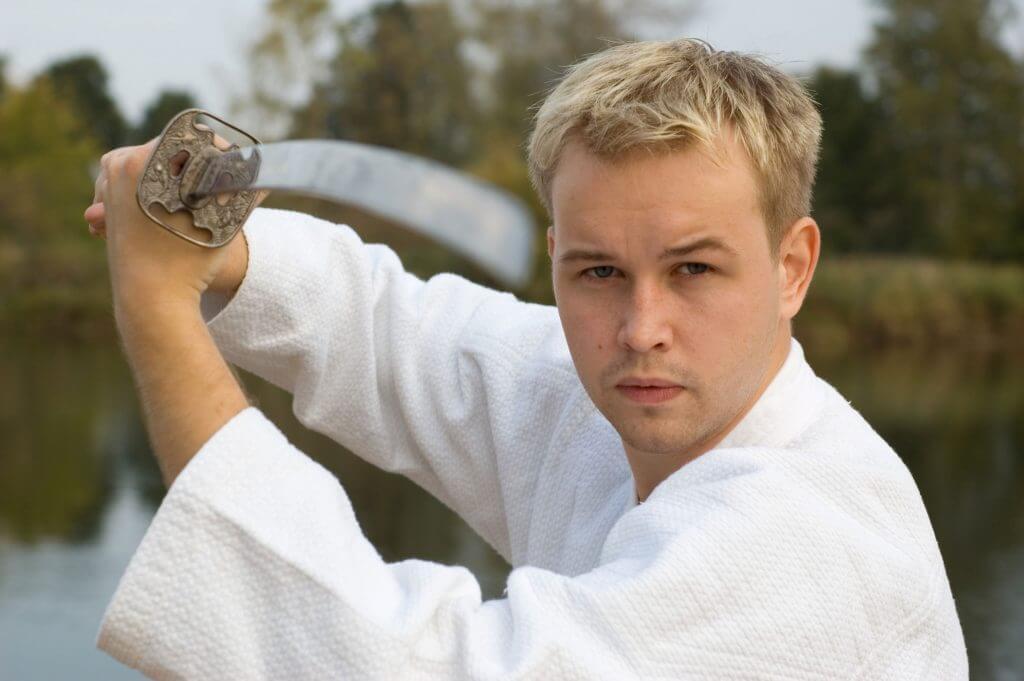 Martial Arts Lessons for Adults in Manahawkin NJ - Samurai Sword Posing Blog