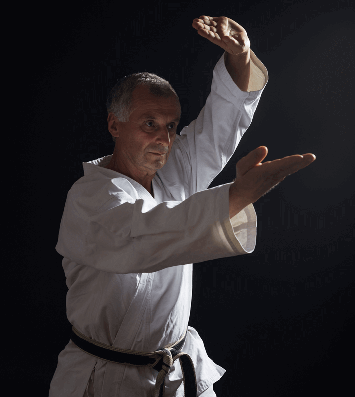 Martial Arts Lessons for Adults in Manahawkin NJ - Older Man