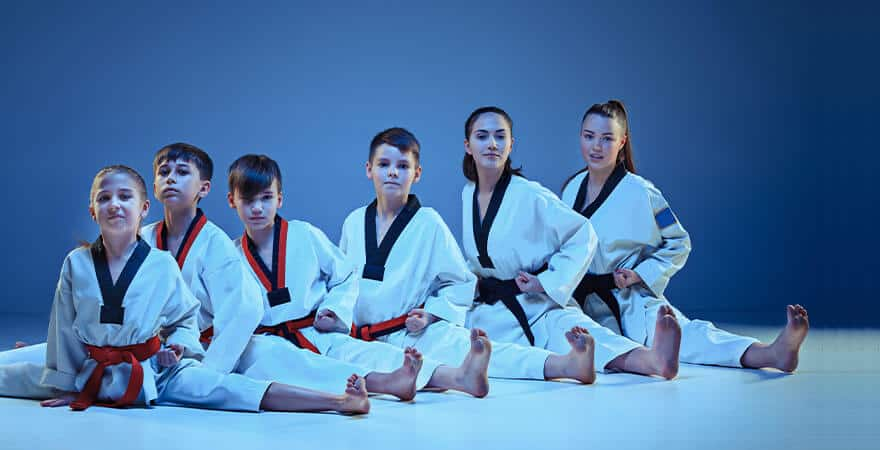 Martial Arts Lessons for Kids in Manahawkin NJ - Kids Group Splits