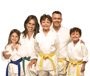 Martial Arts Lessons for Families in Manahawkin NJ - Group Family for Martial Arts Footer Banner