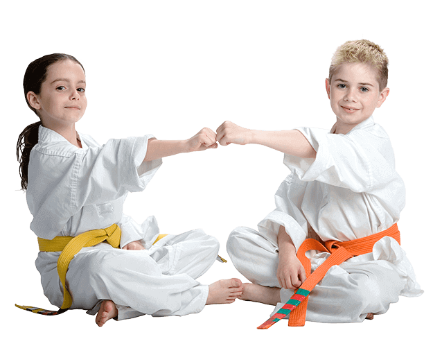 Martial Arts Lessons for Kids in Manahawkin NJ - Kids Greeting Happy Footer Banner