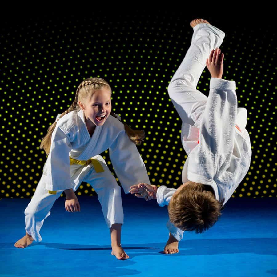 Martial Arts Lessons for Kids in Manahawkin NJ - Judo Toss Kids Girl