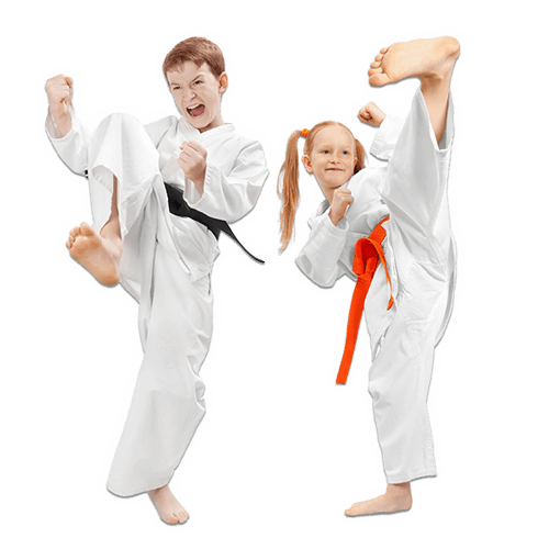 Martial Arts Lessons for Kids in Manahawkin NJ - Kicks High Kicking Together