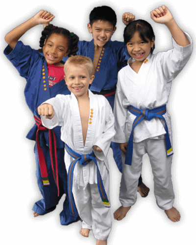 Martial Arts Summer Camp for Kids in Manahawkin NJ - Happy Group of Kids Banner Summer Camp Page